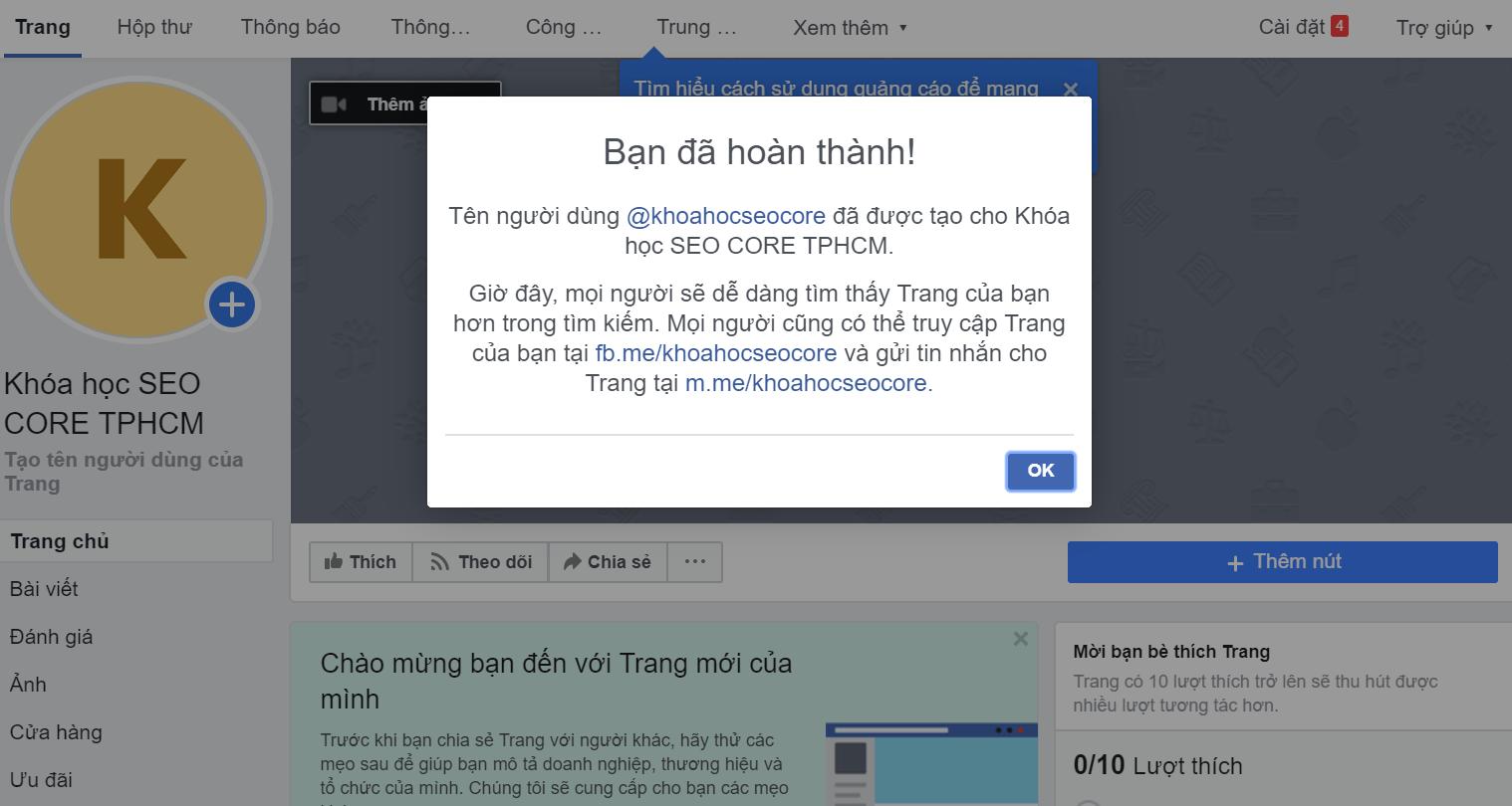 cách seo fanpage facebook hiệu quả lên top