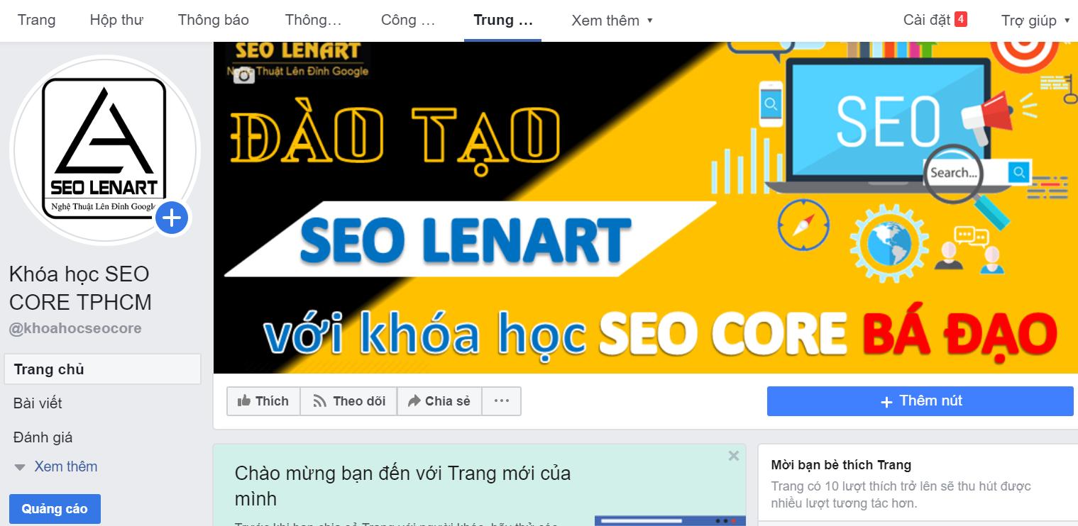 seo fanpage facebook lên top hiệu quả nhất