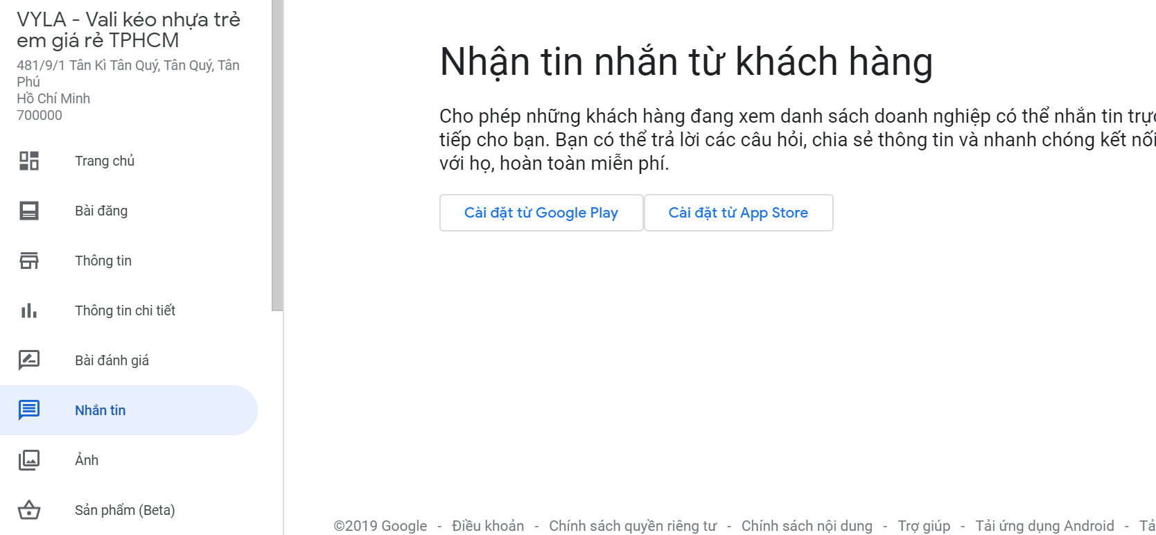 cách seo google địa điểm