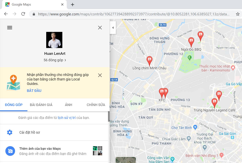 cách seo google map nhanh
