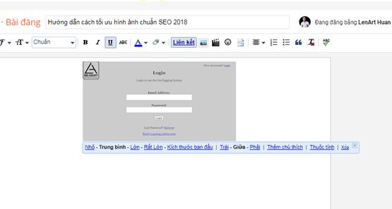 Tối ưu ảnh chuẩn SEO trên nền tảng Blog