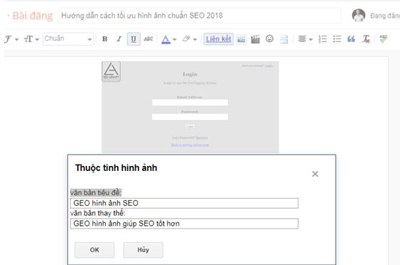 Tối ưu ảnh chuẩn SEO trên nền tảng Blogger