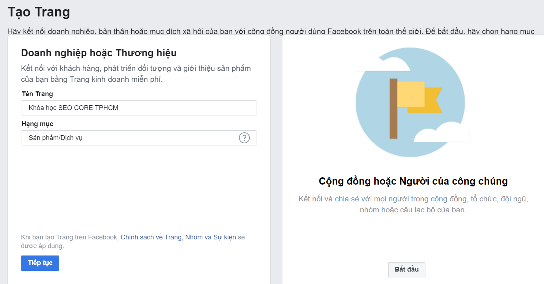 cách seo fanpage facebook hiệu quả lên top 1 google