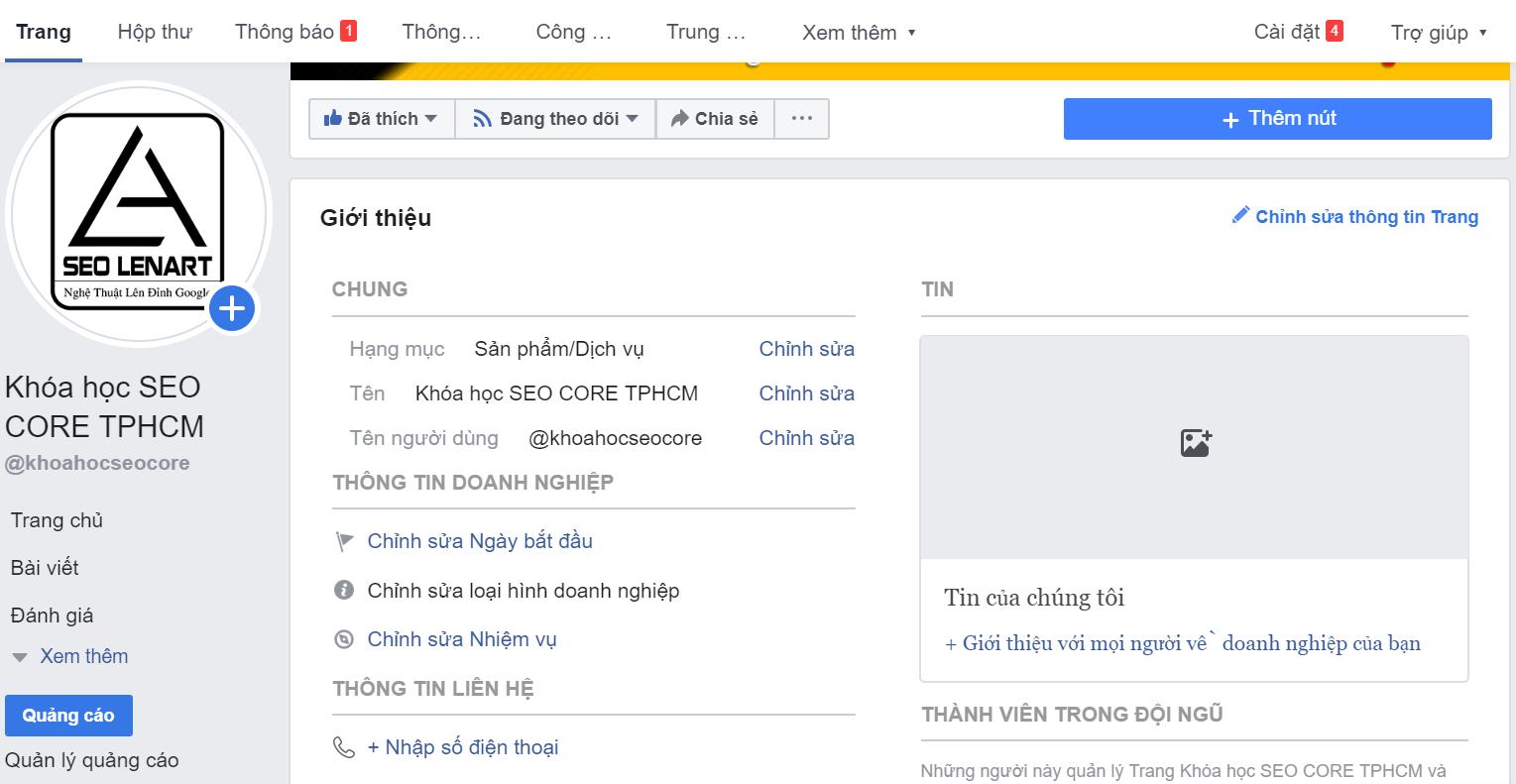hướng dẫn seo facebook lên TOP nhanh nhất hiệu quả