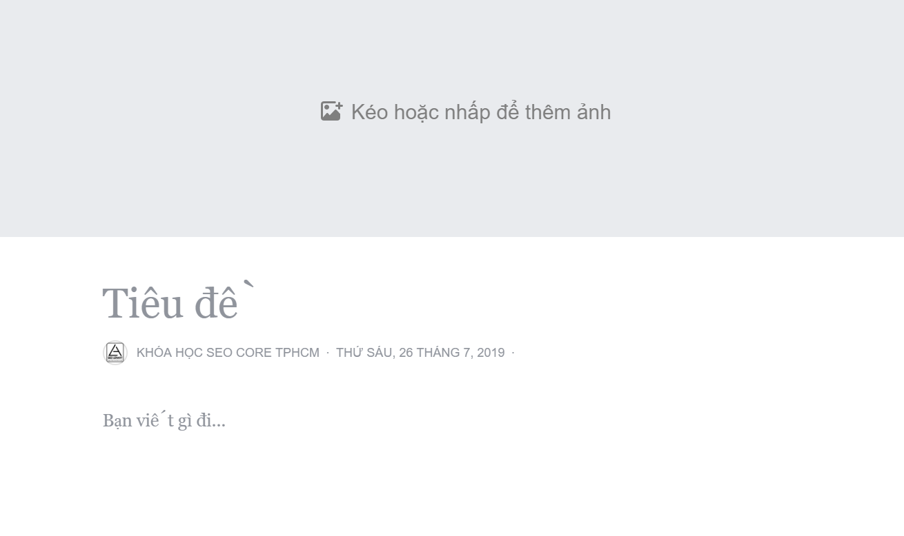 hướng dẫn seo facebook nhanh