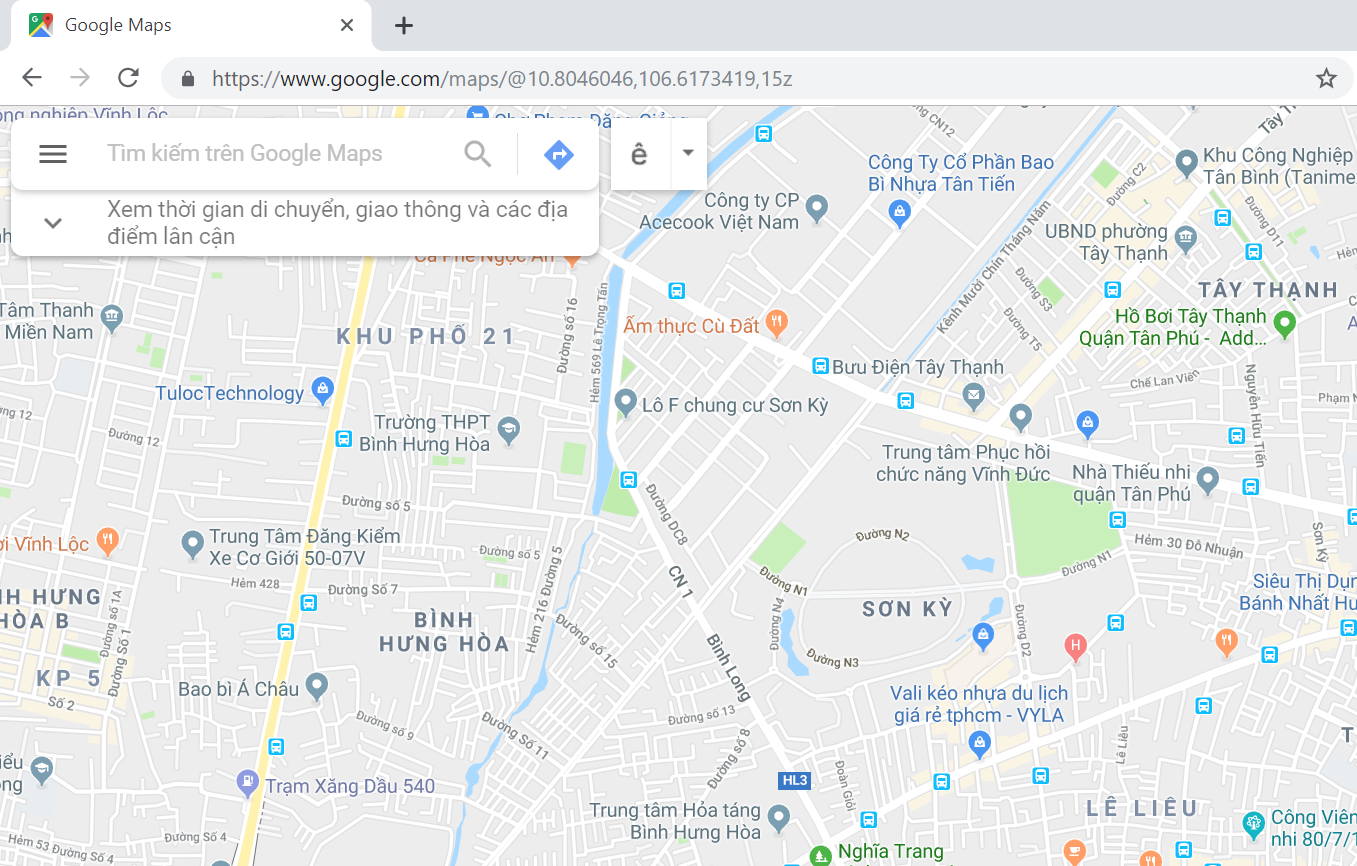 seo google map