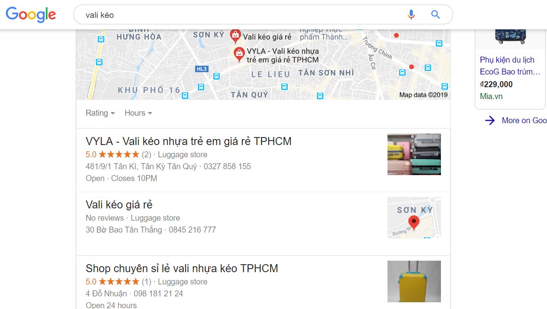 cách seo local